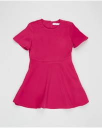 Calvin Klein Jeans - Satin Matte Dress - Kids