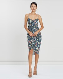 Cooper St - Kensington Frill Drape Dress