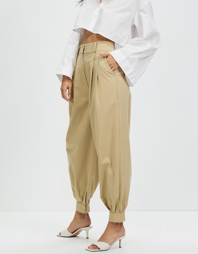 Women Organic Cotton Cuffed Pants