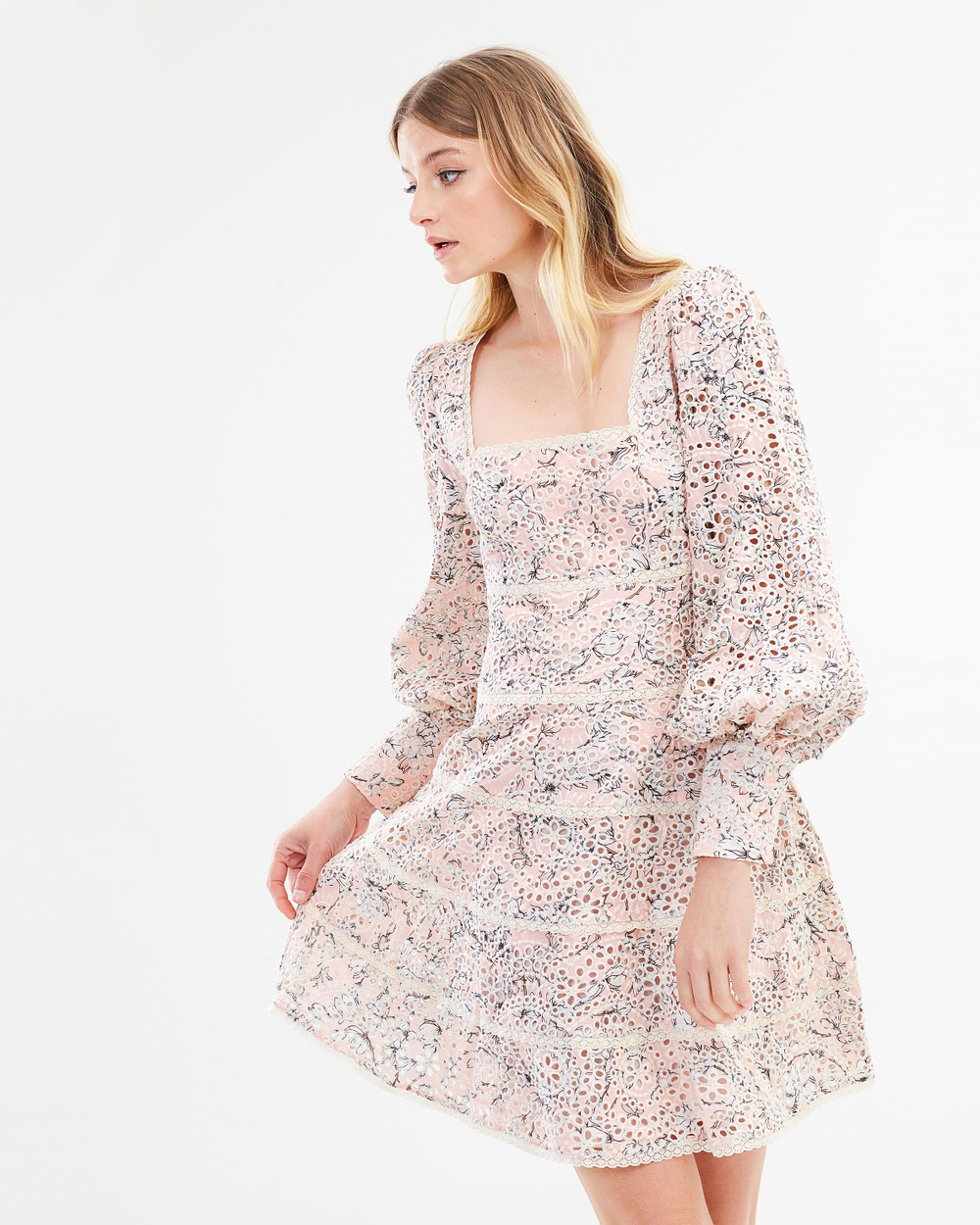 Ministry of Style Delilah Mini Dress Printed Dresses Delilah Print Delilah Mini Dress