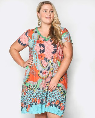Adrift – Pearson Dress Multi