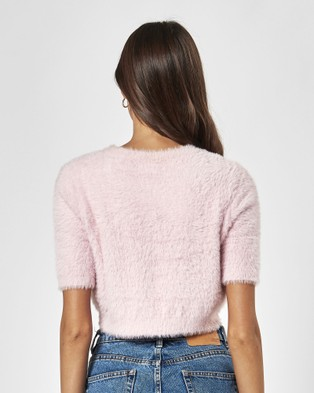 Charlie Holiday Taylor Knit - Jumpers & Cardigans (Rose Water)