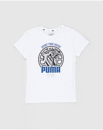 Puma - Alpha Graphic Tee - Teens