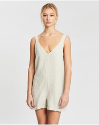 DRICOPER DENIM - Desta Linen Playsuit