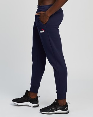 Puma Essential Logo Fleece Pants - Sweatpants (Peacoat)
