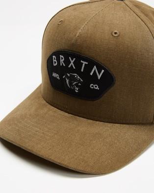 Brixton Waylon C MP Snapback - Headwear (Olive)