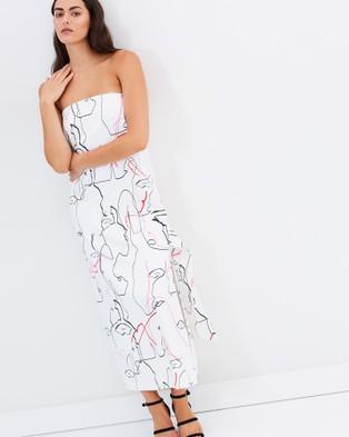 So It Goes – Bermuda Bustier Dress