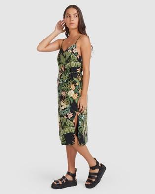 Element So Tropical Dress - Dresses (BLACK)