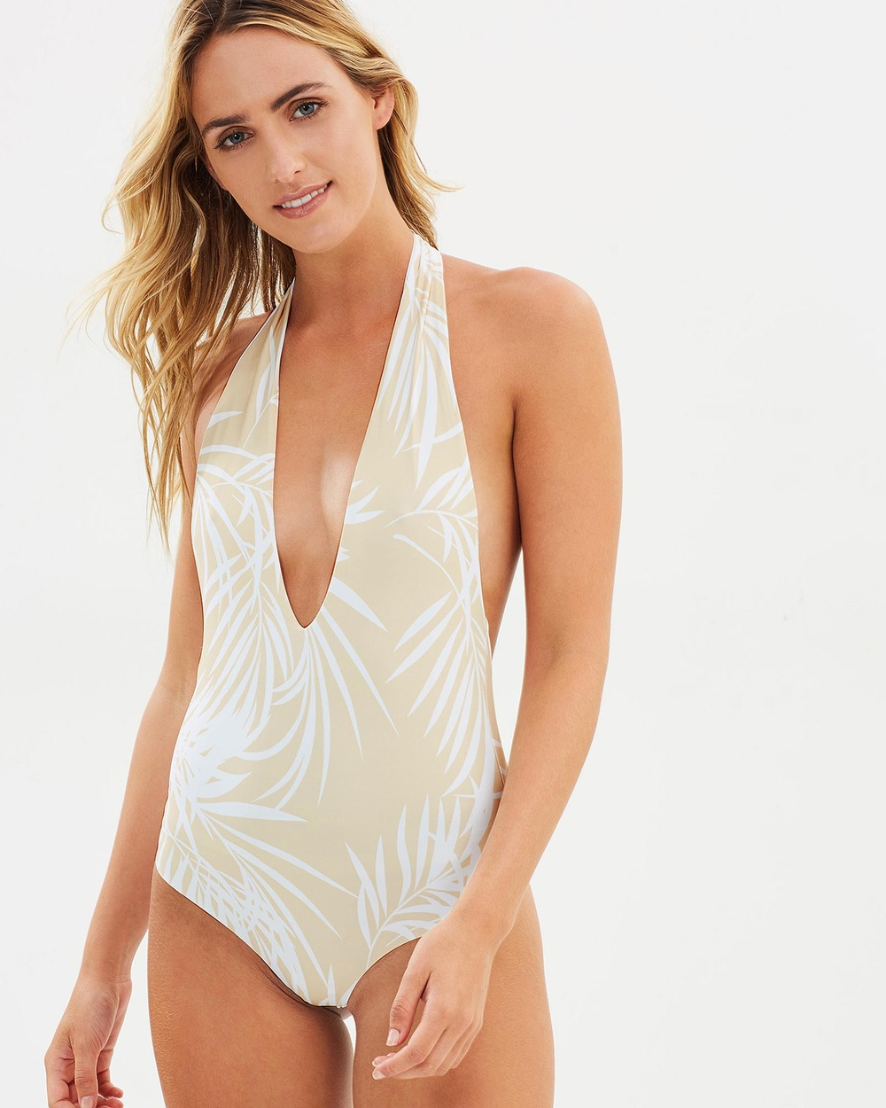 Bond-Eye Swimwear Dive In Reversible One Piece One-Piece / Swimsuit Honey Dip Dive In Reversible One-Piece