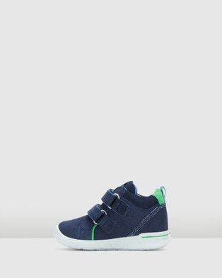 ECCO - First 2 Strap Boots Infant (Navy)