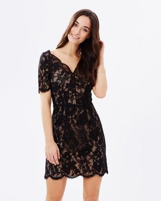Homebodii – Lyra Lace Dress Black