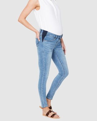 Soon Maternity Underbelly Skinny Jeans - Jeans (Light)