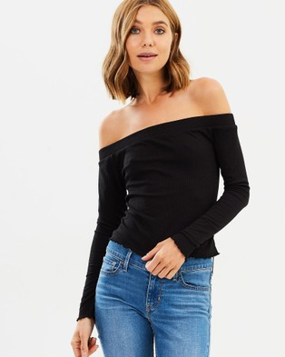 All About Eve – Sophia Top – Cropped topsBlack