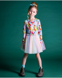 Rock Your Kid - All The Pretty Horses Circus Dress - Kids-Teens