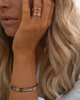 Daniel Wellington Elan Dual Ring - Jewellery (Rose gold)