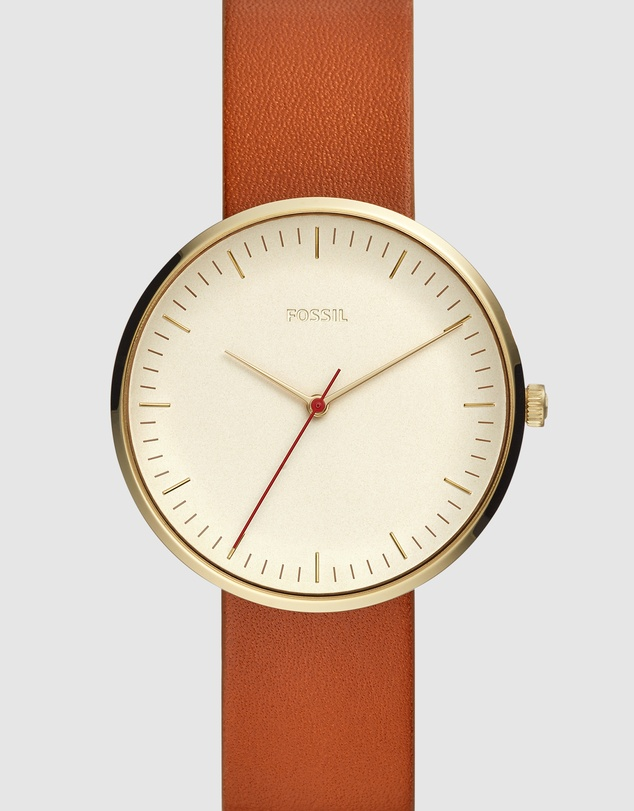Fossil - The Essentialist Brown Analogue Watch