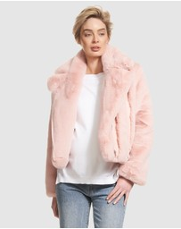 Soon Maternity - Agi Faux Fur Jacket