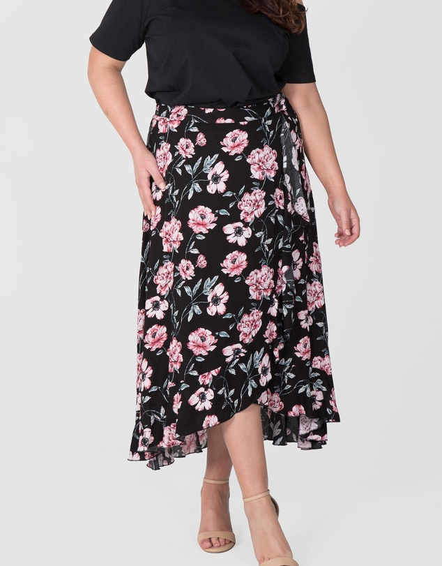 Love Your Wardrobe - Wrap Skirt