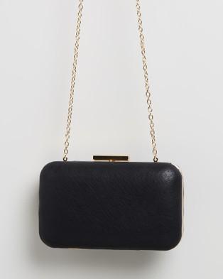 Morgan & Taylor Elaine Clutch Bag - Clutches (Black)