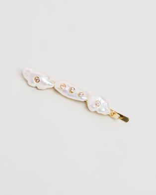 Amber Sceats Nicolette Hair Clip Accessories Pearl