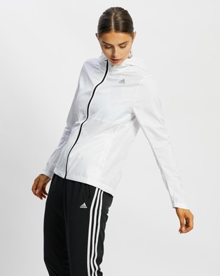adidas Performance Own The Run Jacket - Coats & Jackets (White)