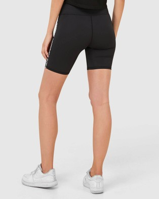 Superdry Sport Gymtech Taped Core Tights - Shorts (Black)