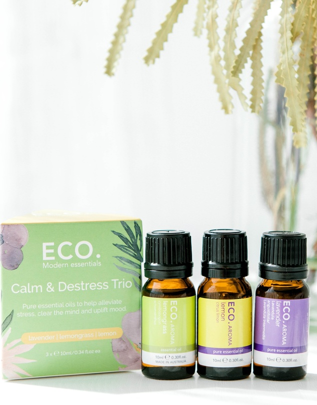 ECO. Modern Essentials - ECO. Calm & Destress Aroma Trio