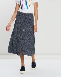 Gap - Button-Through Midi Skirt