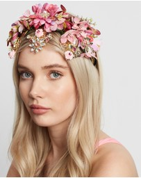 Morgan & Taylor - Violet Headpiece