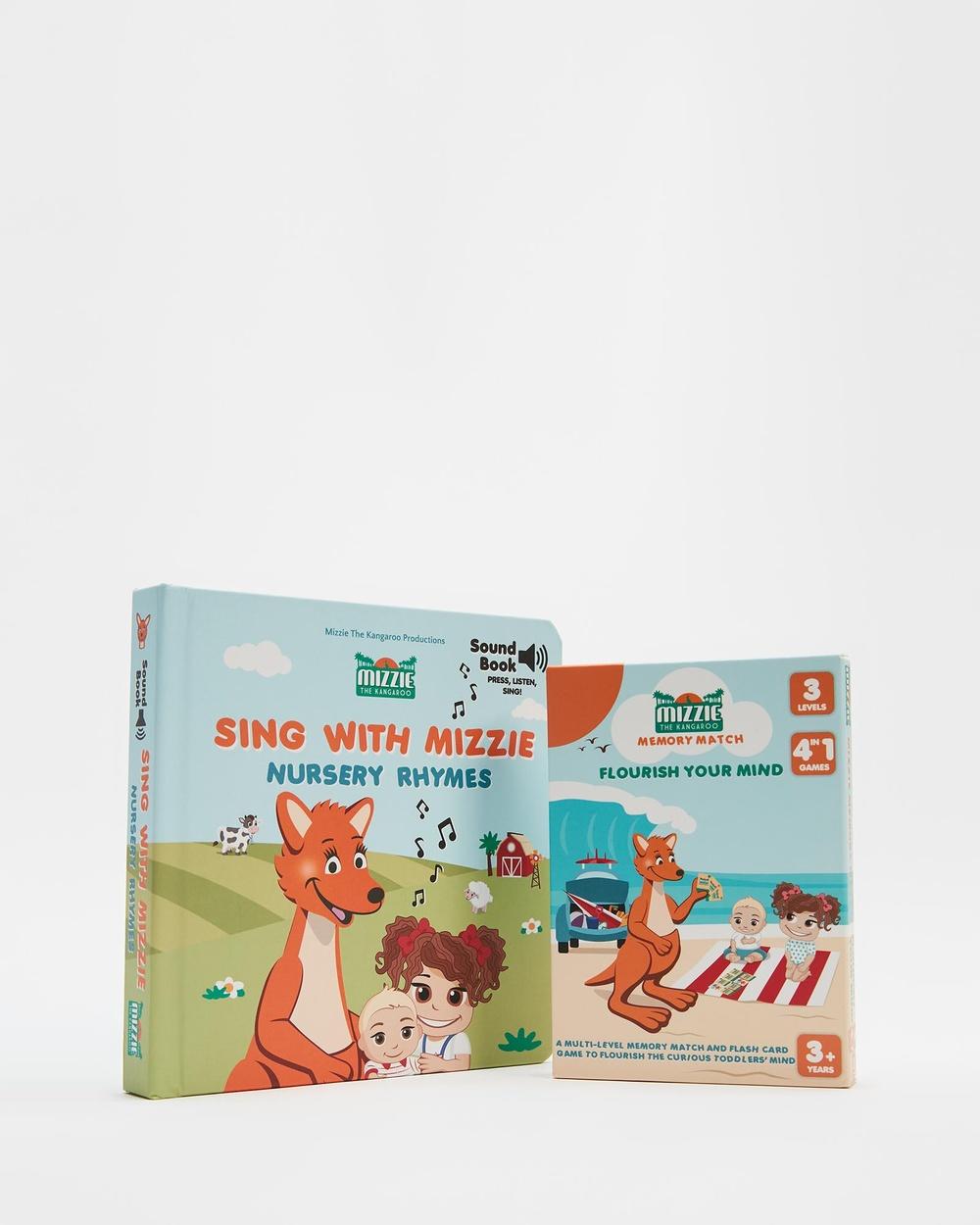 Mizzie The Kangaroo 'Queensland Explorer' Toddler Gift Set All toys Mizzie 'Little Solver' Set All toys Australia