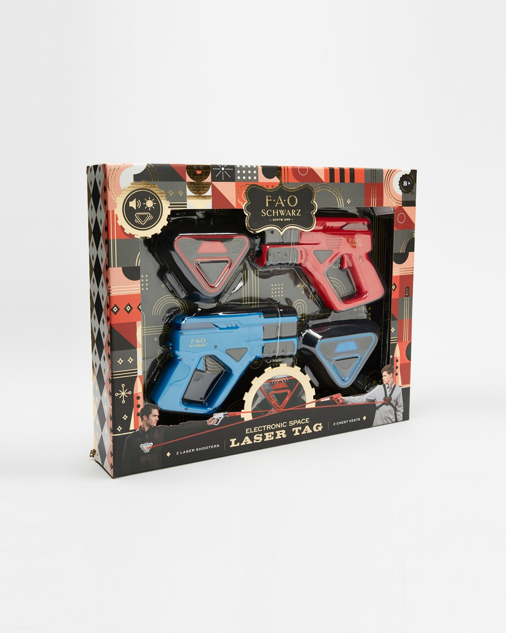 F.A.O SCHWARZ - Toy Laser Tag Game 2 Player - All toys (Laser Tag) Toy Laser Tag Game 2 Player