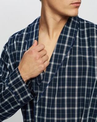 Marks & Spencer Dressing Gown - Sleepwear (Navy Mix)
