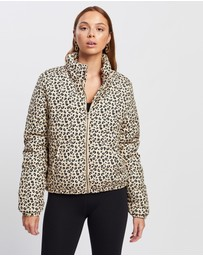 All About Eve - Leopard Puffer Jacket