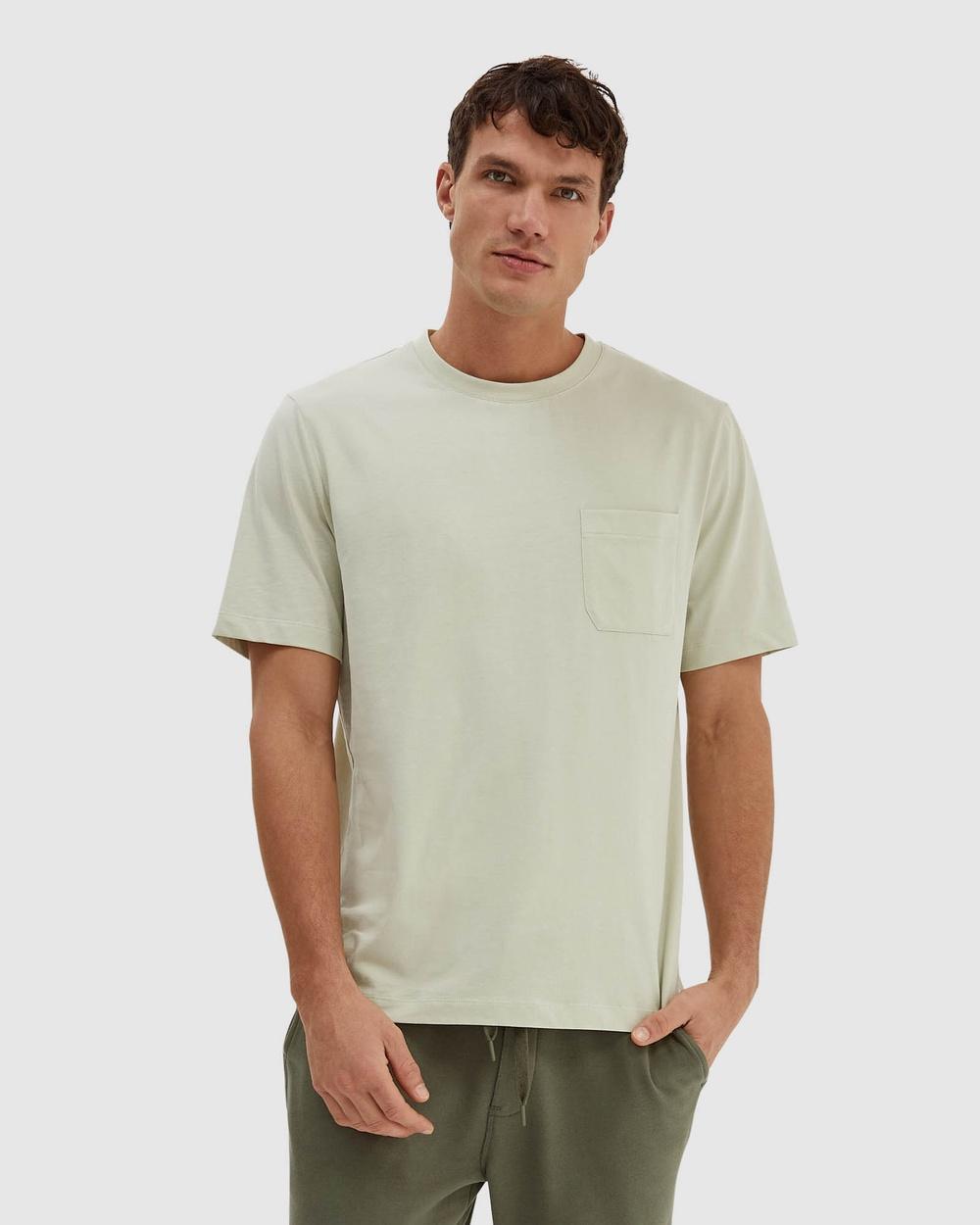 SABA - SB Walker Short Sleeve Super Soft Tee - T-Shirts & Singlets (Honey Dew) SB Walker Short Sleeve Super Soft Tee