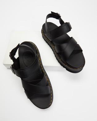 Dr Martens Voss II Sandals   Women's - Sandals (Black Hydro)
