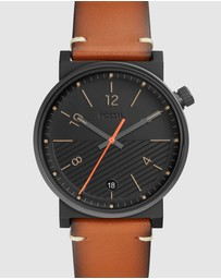 Fossil - Barstow Brown Analogue Watch