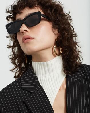 AKILA - Frenzy Sunglasses (Black & Silver)