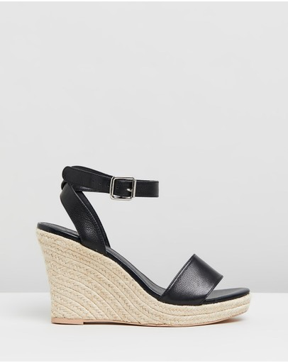 Atmos&Here - Jane Leather Wedges