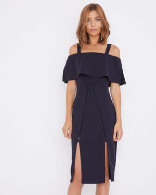 Calli – Tessia Dress Navy