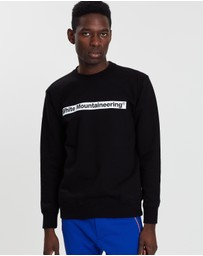 White Mountaineering - WM Logo Printed Sweatshirt