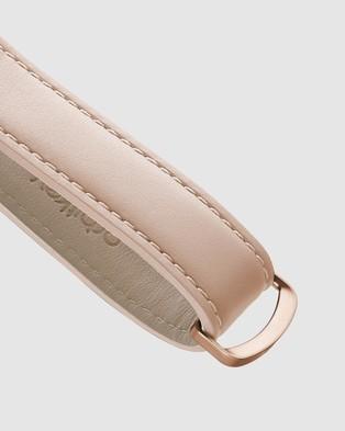 Orbitkey Key Organiser Leather - Key Rings (Blush)