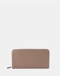 Olga Berg - Leni Soft Leather Studded Wallet