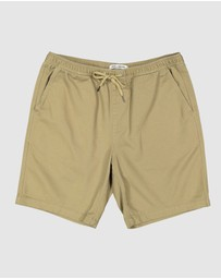 Billabong - Larry Twill Shorts - Teens