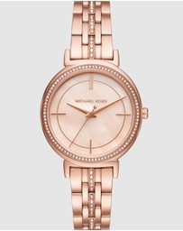 Michael Kors - Cinthia Rose Gold-Tone Analogue Watch