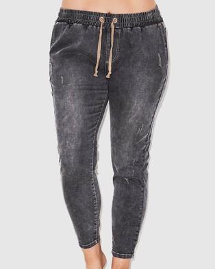 17 Sundays Warpaint Joggers - Jeans (Grey)