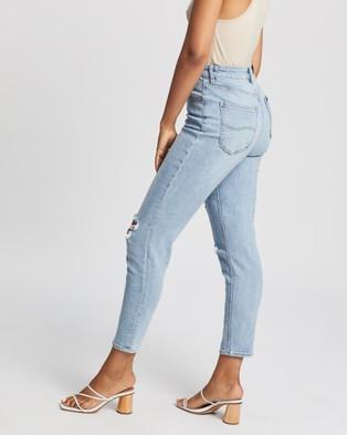 Lee High Mom Jeans - High-Waisted (Thrive)