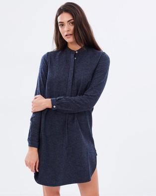 Weathered – Lisa Shirt Dress – Dresses (Navy)