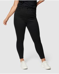Forever New Curve - Bianca Curve High Rise Ankle Grazer Jeans