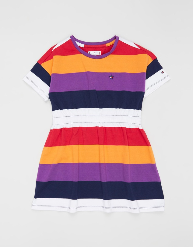 0d3d21267d Essential SS Stripe Knit Dress - Kids