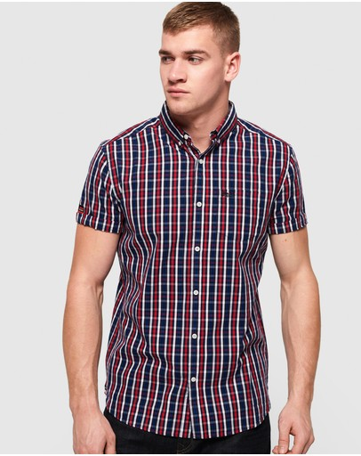 Superdry - Premium University Oxford Short Sleeve Shirt